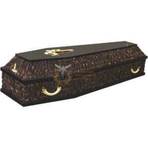 Гроб комбинированный шоколад