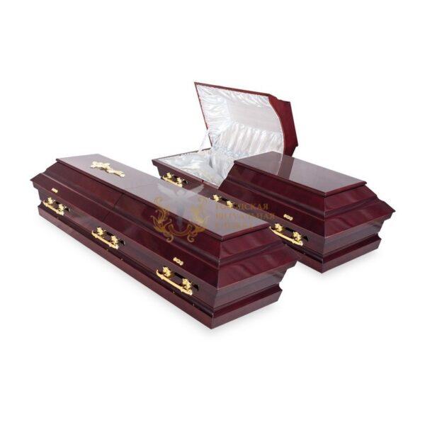 Гроб с открывающейся крышкой